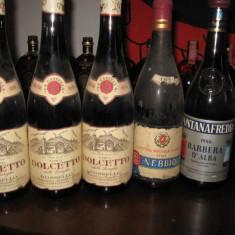 6 sticle vin vechi italian, lotto Z - Vinde Colectie, Aroma: Sec, Sortiment: Rosu, Zona: Europa