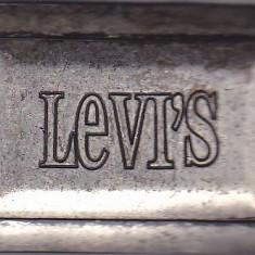 Catarama din metal pentru curea Levi's - Curea Barbati, Marime: Alta, Culoare: Din imagine