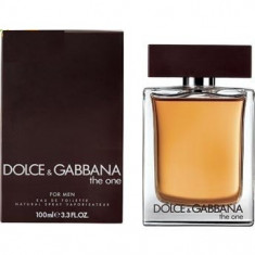 Dolce Gabbana The One for men EDT Made in UK - Parfum barbati Dolce & Gabbana, Apa de toaleta, 100 ml