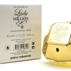 Paco Rabanne Lady Million EDP 80 ml Original Varianta Tester - Parfum femeie Paco Rabanne, Apa de parfum