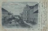 SFANTU GHEORGHE  ,  STRADA KOSSUTH LAJOS , CIRCULATA IANUARIE 1900, Printata
