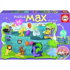 Puzzle Educa Max 8 in 1 Arca lui Noe