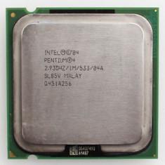 Procesor Intel Pentium 4 2.93GHz, 1MB Cache, 533 MHz FSB