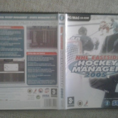 NHL Eastside Hockey Manager 2005 - PC - Joc PC Electronic Arts, Sporturi, 12+, Single player