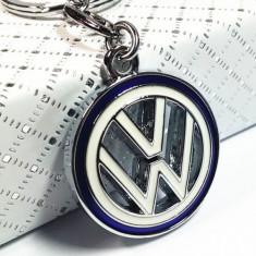 Breloc model vw Volkswagen VW metalic + cutie simpla cadou - Breloc Auto