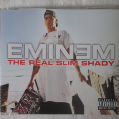 Eminem – The Real Slim Shady _ cd, maxi single, EU - Muzica Hip Hop Altele