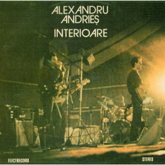 Alexandru Andries – Interiors (LP - Romania - VG) - Muzica Folk electrecord, VINIL