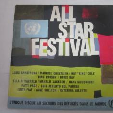 Various – All-Star Festival _ vinyl, LP, UK - Muzica Jazz Altele, VINIL