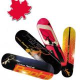 Placa Skateboard WORKER din Artar Canadian dublu concav, Marime: 31