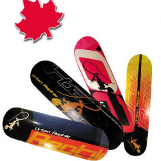 Placa skateboard din Artar Canadian dublu concav