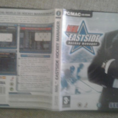 NHL Eastside Hockey Manager - PC - Joc PC Electronic Arts, Sporturi, 12+, Single player