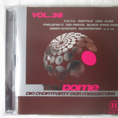 Various ‎– The Dome Vol. 36 _ dublu cd, compilatie Germania - Muzica Dance sony music