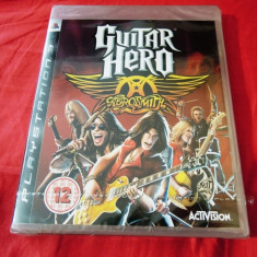 Joc Guitar Hero Aerosmith, PS3, original si sigilat, alte sute de jocuri!, Simulatoare, 12+, Single player, Activision