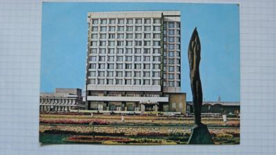 GHEORGHE GHEORGHIU DEJ ,ONESTI - HOTEL TROTUS - CARTE POSTALA NECIRCULATA foto