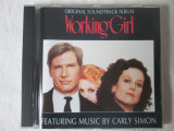 Various ‎– Original Soundtrack Album Working Girl _ cd,compilatie,Germania, arista