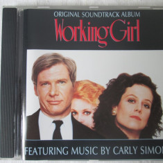 Various ‎– Original Soundtrack Album Working Girl _ cd, compilatie, Germania - Muzica soundtrack arista