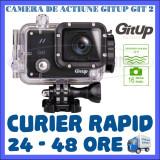 CAMERA DE ACTIUNE SPORT GITUP GIT2 WIFI, SENZOR SONY IMX206, QUAD HD 2K, 16 MPX, Card de memorie