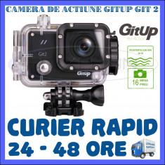 CAMERA DE ACTIUNE SPORT GITUP GIT2 WIFI, SENZOR SONY IMX206, QUAD HD 2K, 16 MPX