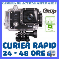 CAMERA DE ACTIUNE SPORT GITUP GIT2 WIFI, SENZOR SONY IMX206, QUAD HD 2K, 16 MPX - Camera Video Actiune