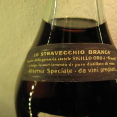 Brandy stravecchio branca, cl 75 gr 42 italy puro distillato di vino ani 70 - Cognac