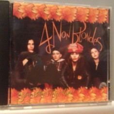 4 NON BLONDES - BIGGER, BETTER...(1992/ATLANTIC/GERMANY) - CD/ORIGINAL - CA NOU ! - Muzica Pop warner