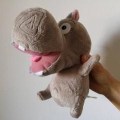 (M) Hipopotam Hippo Gloria Madagascar, Big Headz, jucarie plus, 26 cm - Jucarii plus