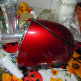 Masina de tocat HEINNER Duo 6080 1500W adaptor suc rosii BONUS Storcator citrice - Masina de Tocat Carne