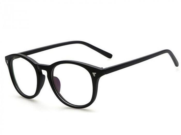 Ochelari retro lentila transparenta gen unisex model retro