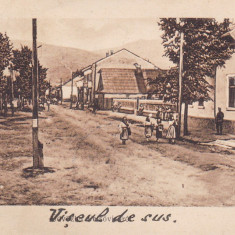 VISEUL DE SUS , MARAMURES , CIRCULATA APRILIE 1930, Printata, Viseu de Sus