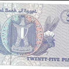 @bancnota- EGIPT 25 piastres 9 decembrie 2004 UNC