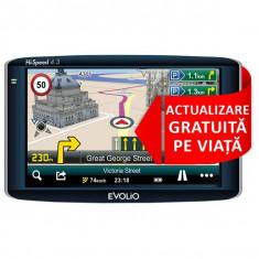 Gps Evolio hi-speed 4.3 full Europa updatari pe viata., Toata Europa, Lifetime, Car Sat Nav, peste 32 canale