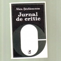 Alex Stefanescu - Jurnal de critic