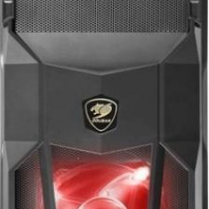 Carcasa Cougar MX200, Middle Tower, neagra, cu sursa STC550 de 500W - Carcasa PC