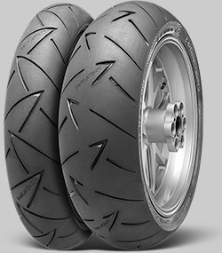 Motorcycle Tyres Continental ContiRoadAttack 2 ( 110/80 R19 TL 59V Roata fata, M/C ) foto mare