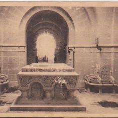 Bnk cp Biserica Neamului dela Marasesti - Capela mortuara - uzata - Carte Postala Moldova dupa 1918, Circulata, Printata