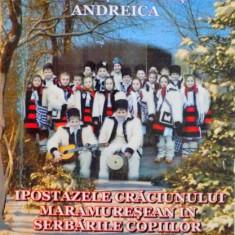 IPOSTAZELE CRACIUNULUI MARAMURESEAN IN SERBARILE COPIILOR DE VOICHITA NEMES ANDREICA, 2008 DEDICATIE* - Carte traditii populare
