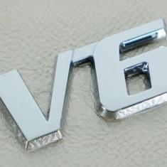 Emblema pentru masina auto V6 metalica adeziv inclus - Embleme auto