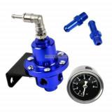 Regulator presiune benzina tuning reglabil ceas aluminiu