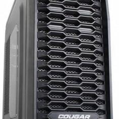 Carcasa Cougar MX300, Middle Tower, neagra, fara sursa - Carcasa PC