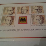Germania bundepost 1982/ 4 serii MNH / bloc de 2v.++ - Timbre straine, Nestampilat