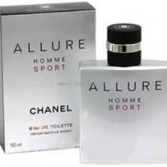 Chanel Allure Homme Sport Eau de Toilette 100 ml Original Varianta Tester - Parfum barbati Chanel, Apa de toaleta