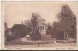 Bnk cp Bucuresti - Ateneul Roman - uzata - interbelica, Circulata, Printata