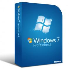 Licente ORIGINALE Windows 7 Professional SP1 32/64-bit.ENGLEZA.ORIGINALE. - Sistem de operare, DVD, OEM, Numar licente: 10