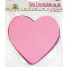 Inima din hartie gumata Daco, 6 seturi