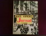 Alice Voinescu Jurnal, editie princeps, introd. Alexandru Paleologu