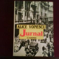 Alice Voinescu Jurnal, editie princeps, introd. Alexandru Paleologu, Alta editura