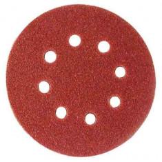 Rezerva smirghel velcro 10 buc pentru Slefuitoare orbitale 125 mm K120