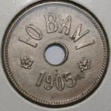 IEFTIN!!! OKAZIE!!! 10 BANI 1905 . CEA MAI BUNA STARE . - Moneda Romania