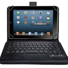 Husa cu tastatura wireless, adaptabila pt. tablete 7-8 inch (cod:ADP78I) - Husa tableta cu tastatura, Universal