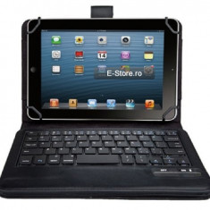 Husa cu tastatura wireless, adaptabila pt. tablete 7-8 inch (cod:ADP78I) - Tastatura tableta, Universal